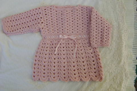 Baby Girl Crochet Dress at Makerist