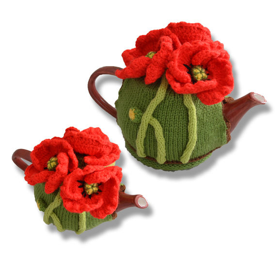 Poppy Field Tea Cosy at Makerist - Image 1