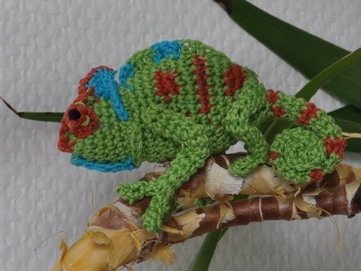 Chamaeleon crochet pattern at Makerist - Image 1