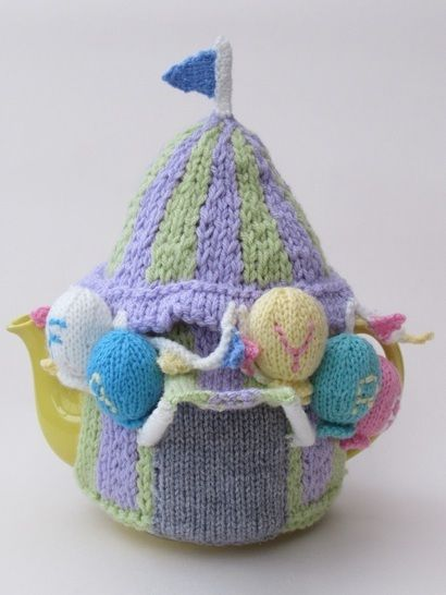 Summer Fayre Marquee Tea Cosy Knitting Pattern at Makerist - Image 1