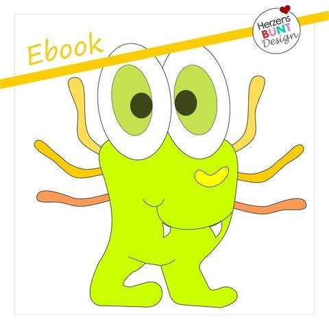 "Ebook Applikationsvorlage ""Monster Oskar"""