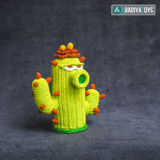 Crochet Pattern of Cactus by AradiyaToys at Makerist - Image 1