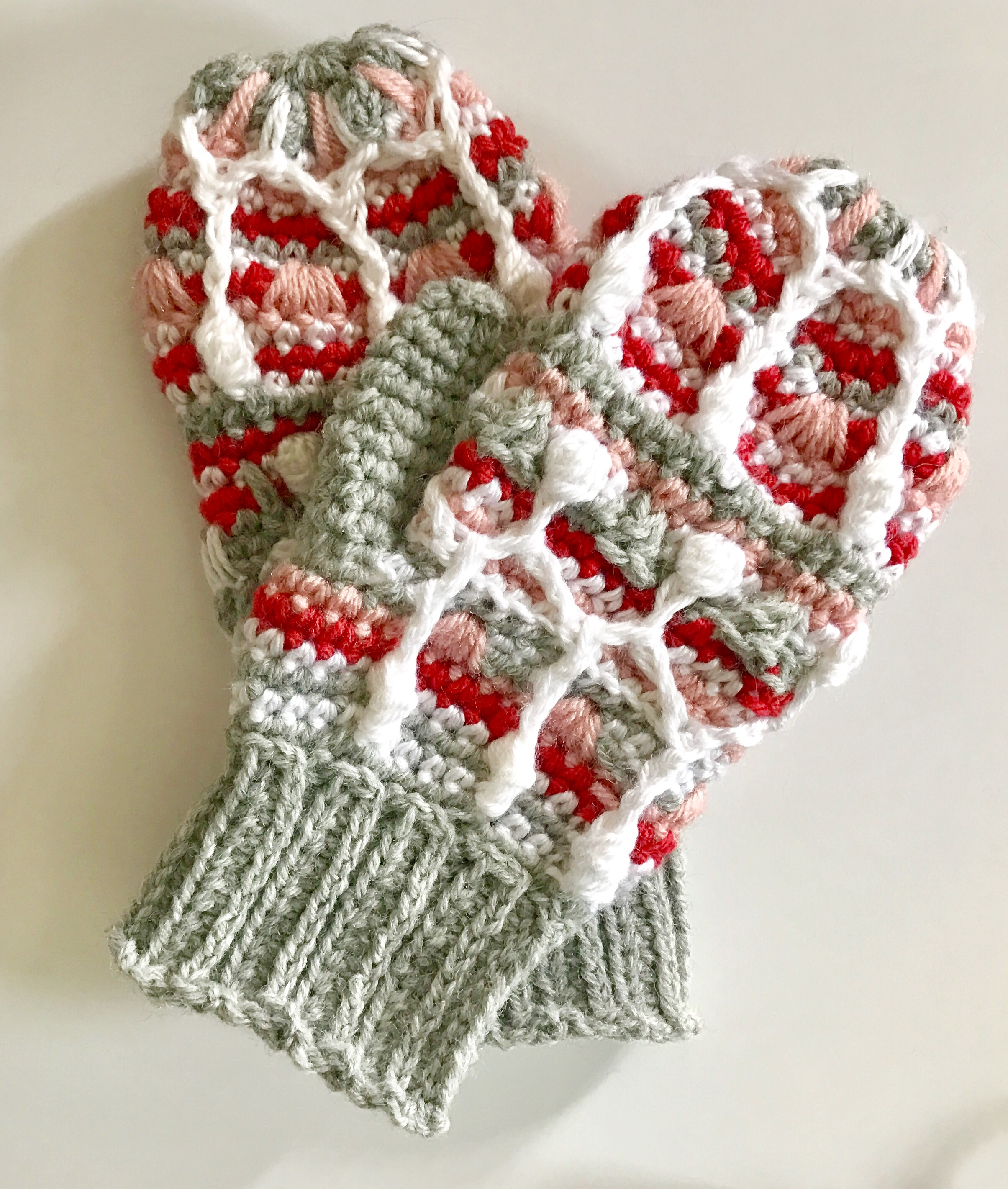 Alpine Icicle Ladies Mittens
