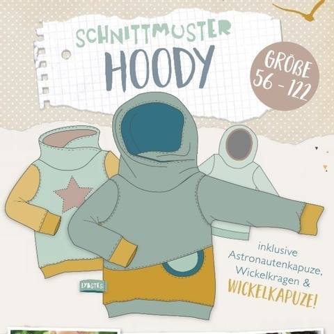 Lybstes. Hoody E-Book Schnittmuster
