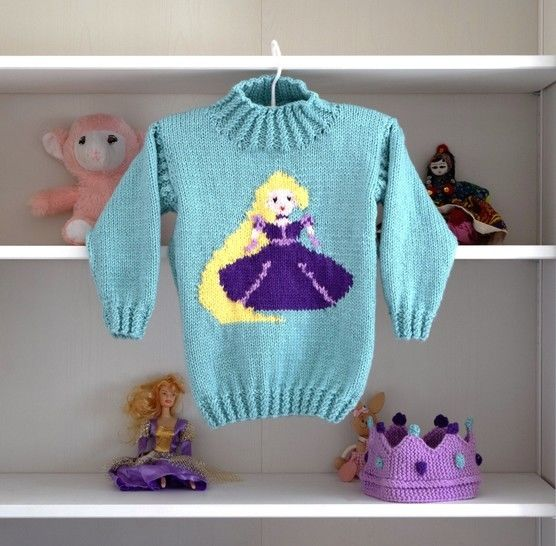 Princess Sweater and Hat - Rapunzel at Makerist - Image 1