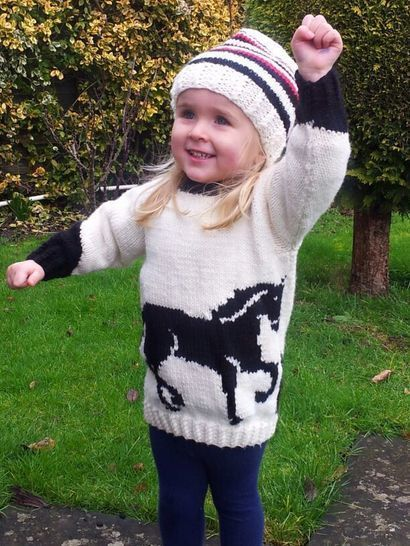 Horse Sweater and Hat at Makerist - Image 1