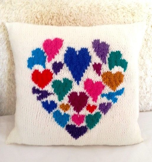Heart of Hearts Cushion at Makerist - Image 1
