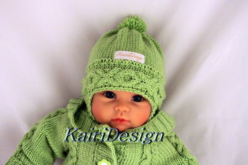Baby hat- knitting pattern size 38-40 and 40- 42 at Makerist - Image 1