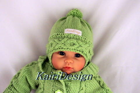 Baby hat- knitting pattern size 38-40 and 40- 42