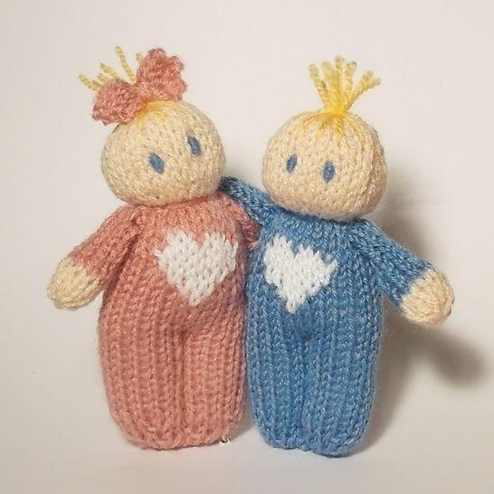 Love hearts Bitsy Baby Doll at Makerist - Image 1