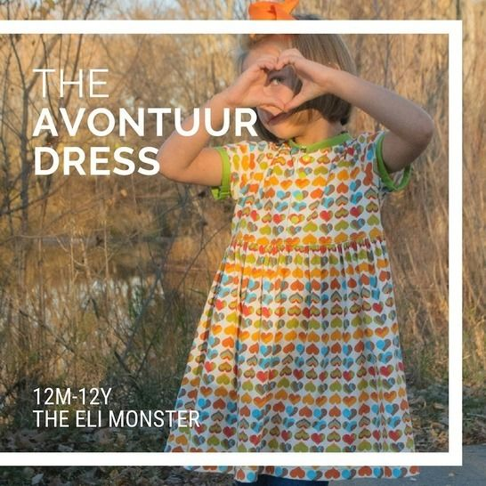 The Avontuur Dress and Tunic Sized 12m to 12y at Makerist - Image 1