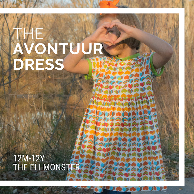 The Avontuur Dress and Tunic Sized 12m to 12y