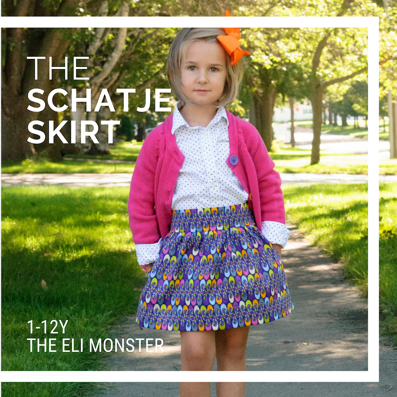 The Schatje Skirt Sized 1 to 12