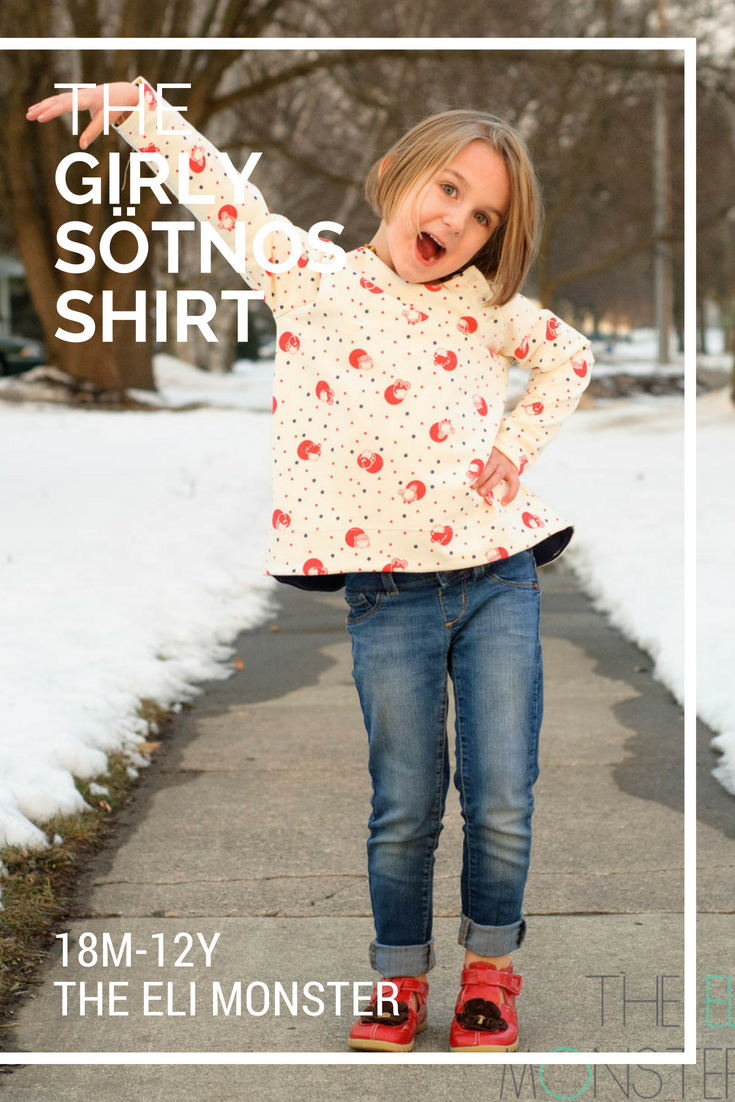 The Sötnos Shirt PDF Sewing Pattern