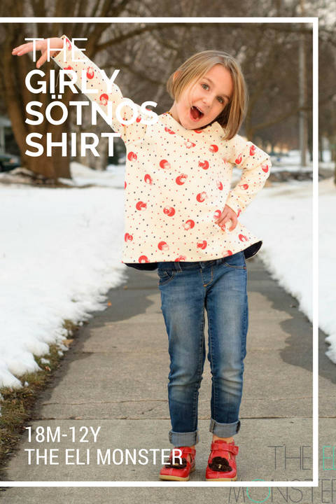 The Sötnos Shirt PDF Sewing Pattern at Makerist