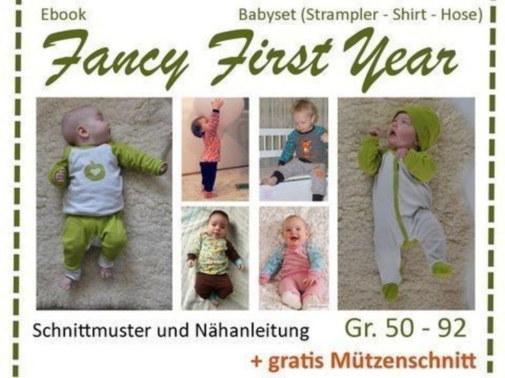 Ebook FancyFirstYear - Basic-Schnitte Babykleidung bei Makerist - Bild 1