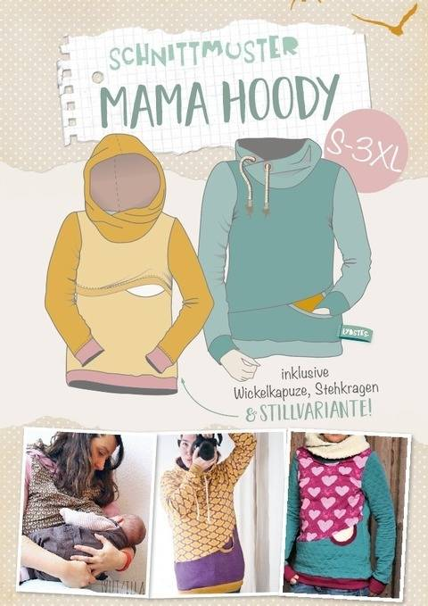 Lybstes. Mama Hoody E-BOOK Schnittmuster S - 3XL