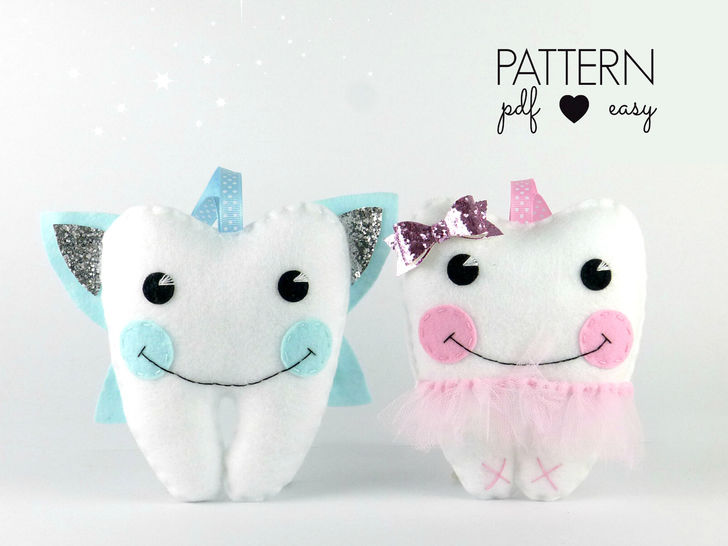 Tooth Fairy Pillow Sewing Pattern - Ballerina & Fairy at Makerist - Image 1