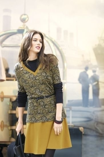 Taillierter Pullunder mit V-Ausschnitt bei Makerist - Bild 1