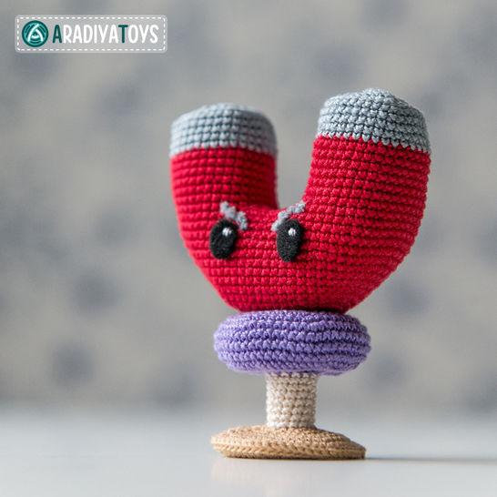 Crochet Pattern of Magnet-shroom by AradiyaToys at Makerist - Image 1