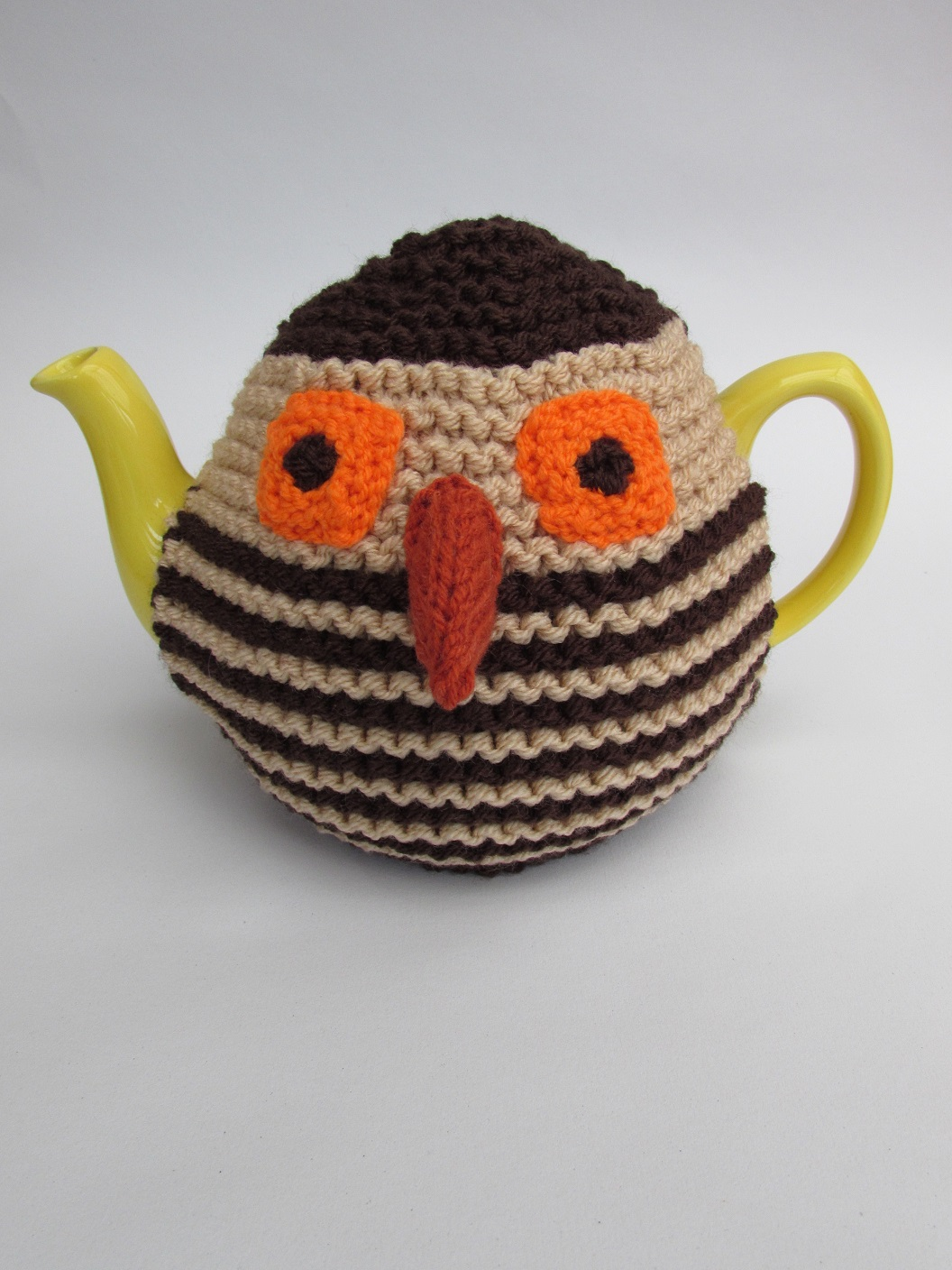 Earnest Owl Novelty Tea Cosy Knitting Pattern