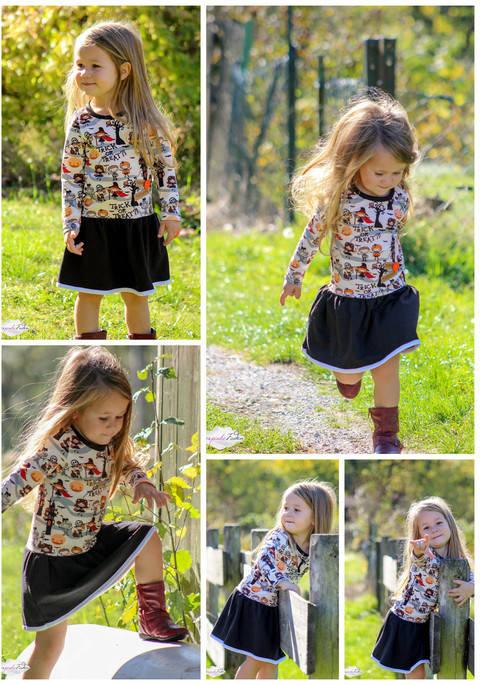 Käfalie- 4 Jahreszeiten-Kleid 56-152