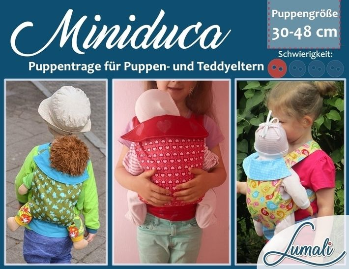 Ebook Puppentrage Miniduca bei Makerist - Bild 1