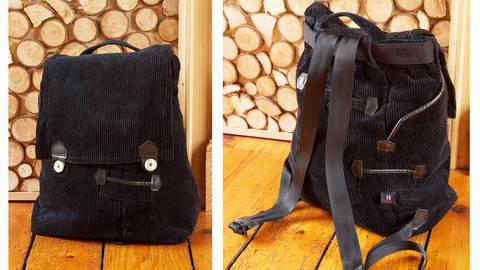 Upcycling: Rucksack nähen aus alter Hose & Hemd