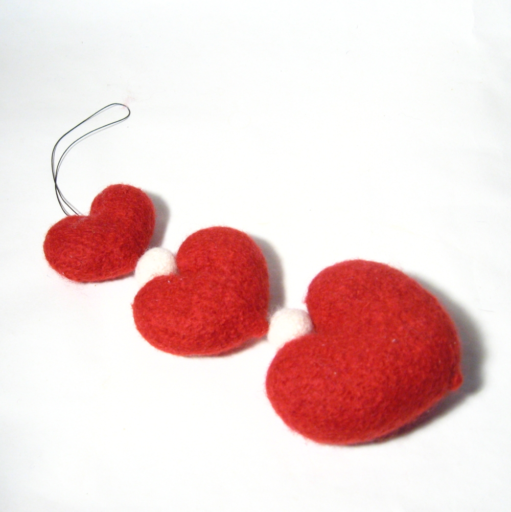 Love Heart Strings Knitting Pattern