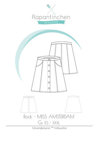 Knopfrock MISS AMSTERDAM bei Makerist - Bild 1