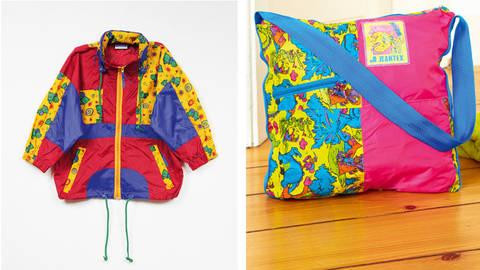 Upcycling: Bade-und Strand-Tasche aus alter Regenjacke