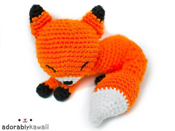 Knit or Crochet 35 of the CUTEST Amigurumi Foxes ever! | amiguru.me | 546x728