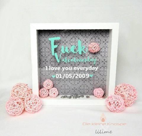 "Plotterdatei ""Fuck Valentinesday i love you everyday"" vier Versionen - DXF, PNG, SVG"