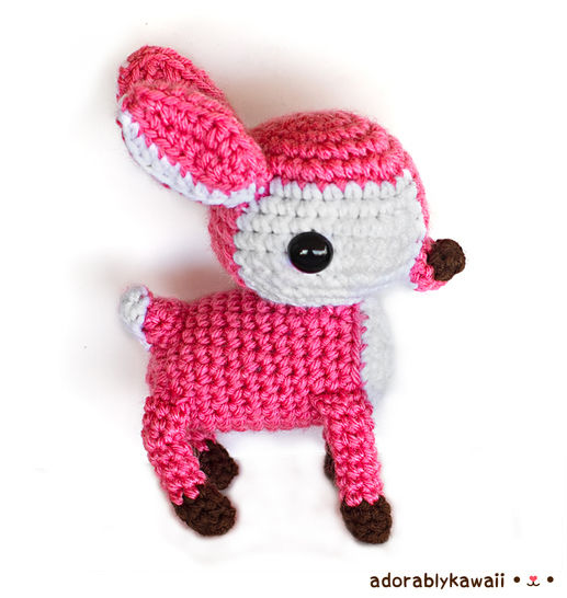 Deer Amigurumi Crochet Pattern at Makerist - Image 1