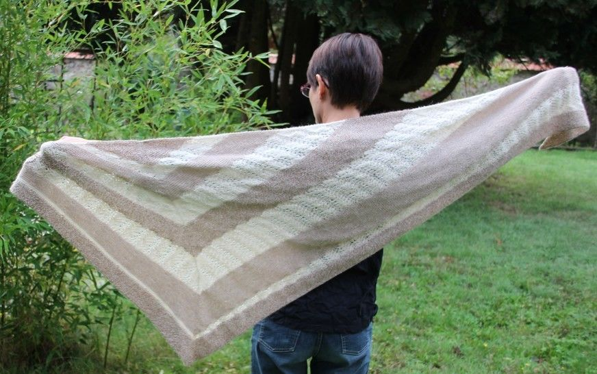 Alvaro shawl at Makerist - Image 1
