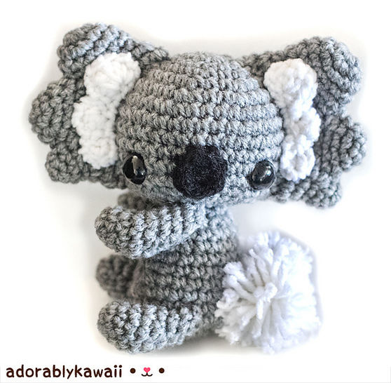Koala Amigurumi Crochet Pattern at Makerist - Image 1
