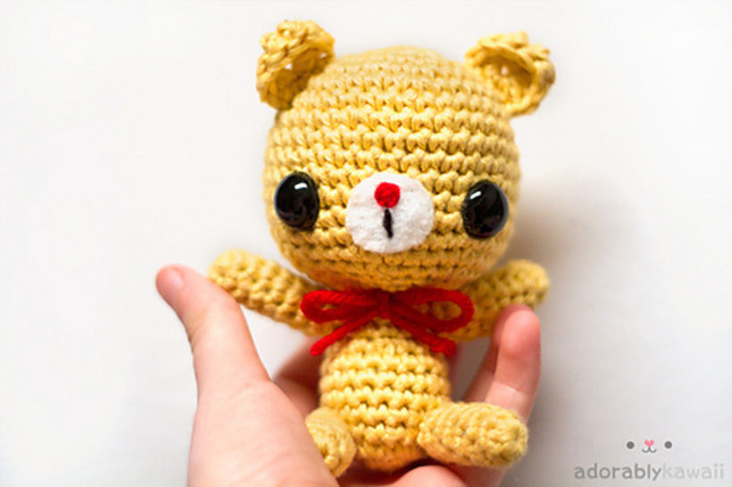 Baby Bear Amigurumi Crochet Pattern at Makerist - Image 1