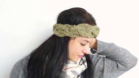 Strickanleitung - Stirnband Headband - No.108
