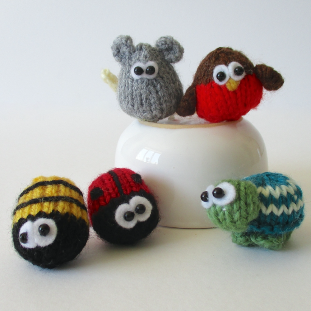 Teeny Animal Knits