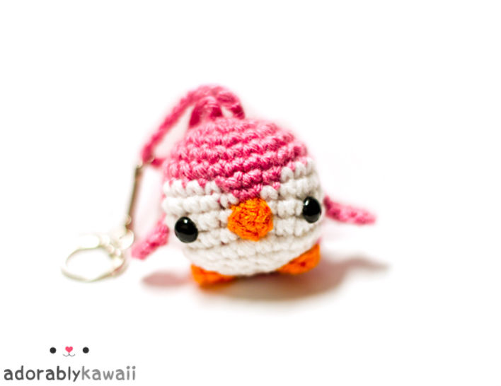 Mini Penguin Amigurumi Keychain Crochet Pattern at Makerist - Image 1