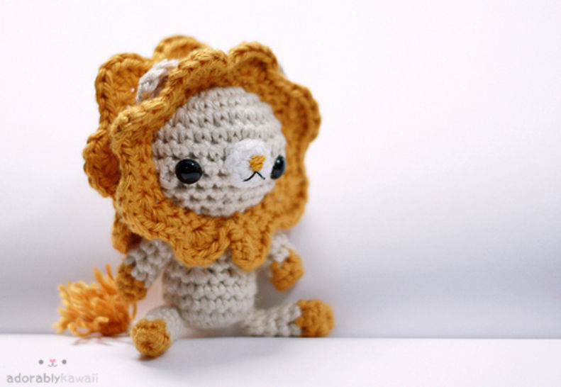 Lion Amigurumi Crochet Pattern at Makerist - Image 1