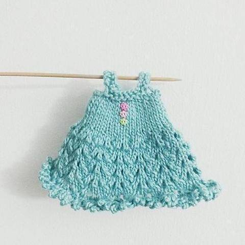 Blythe Knitted Lace Dress Pattern