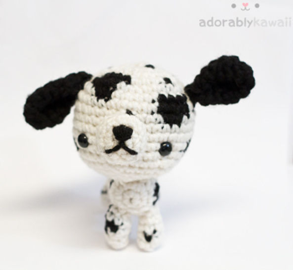 Dalmatian Dog Amigurumi Crochet Pattern at Makerist - Image 1