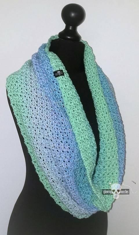 """crochet pattern Loop """"Sky"""" at Makerist"""