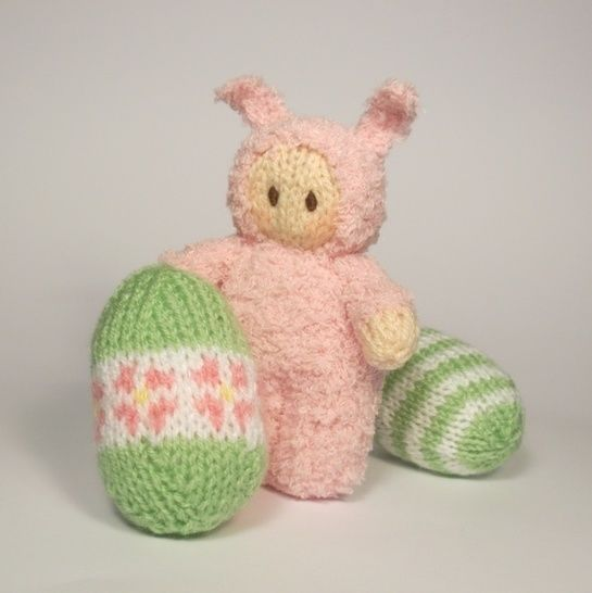 Easter Bunny Bitsy Baby Doll at Makerist - Image 1