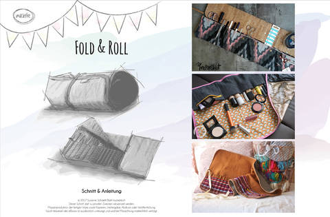 Fold & Roll Etui bei Makerist