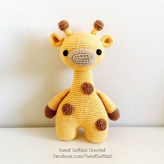 Ginger the Giraffe, Twee Toys Collectible Series, Amigurumi Crochet Pattern at Makerist - Image 1