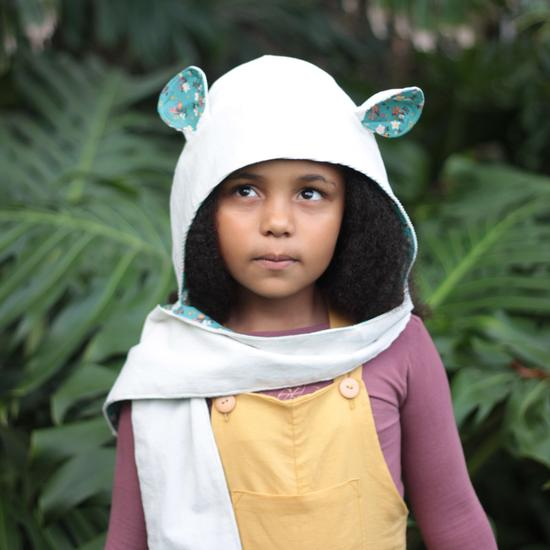 Animal Hooded Scarf - Sizes Infant to Adult