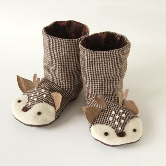 Animal Boots - Sizes 18m to 9 years - PDF Pattern at Makerist - Image 1