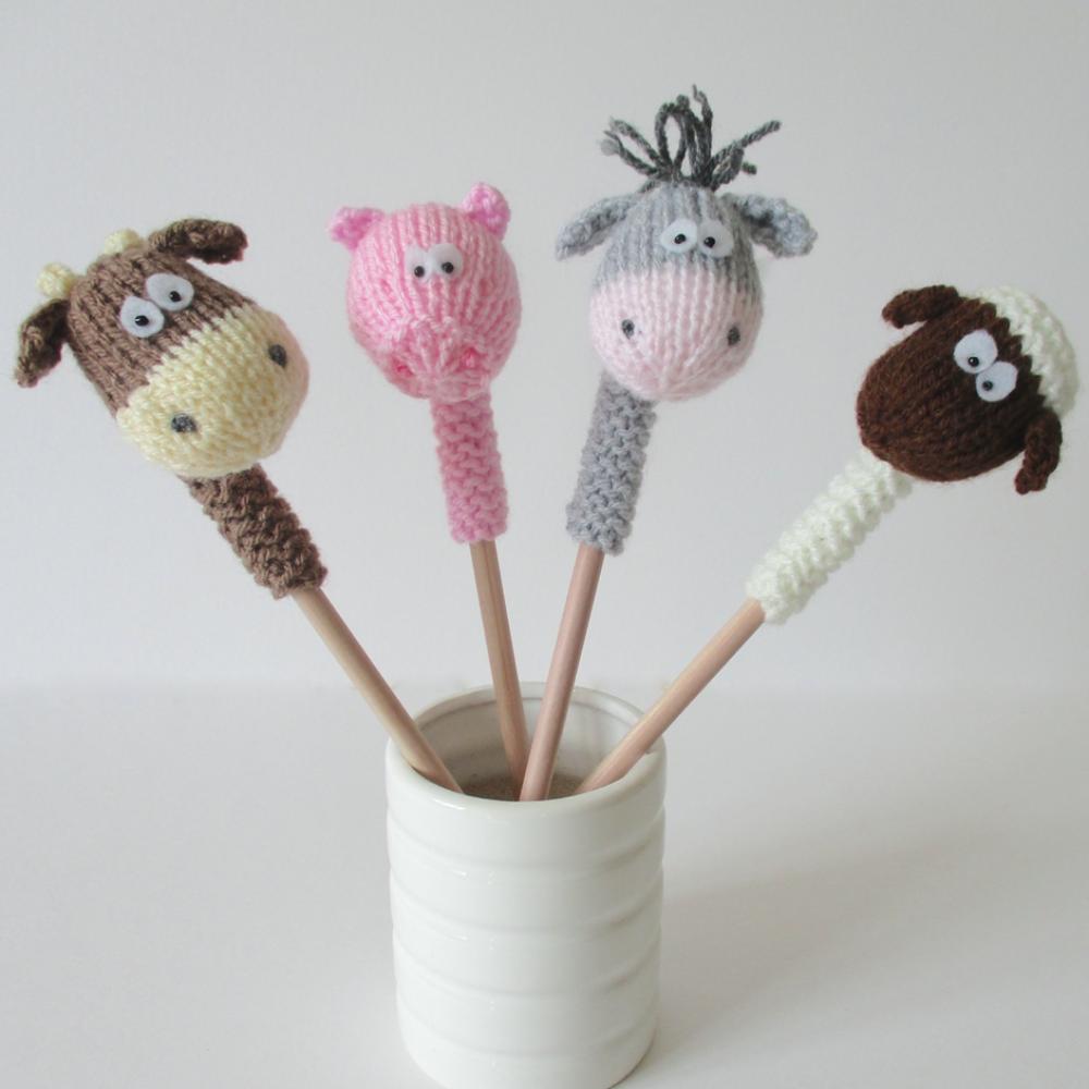 Farmyard Pencil Toppers